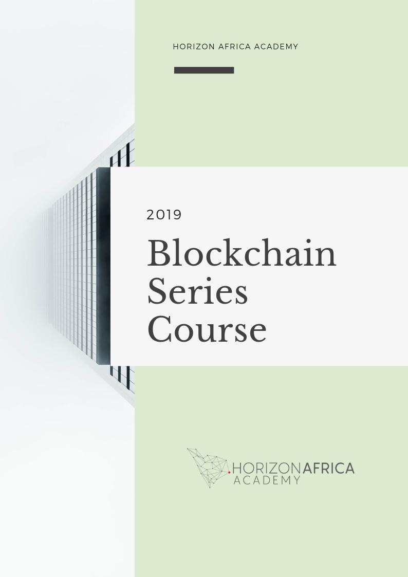 Blockchain Course in Mauritius - Horizon Africa Academy